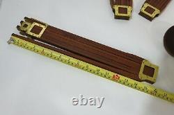 Vintage GRAFLEX NO 1 CROWN Wooden Tripod Head & Legs FOLMER in mint condition