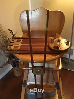 Vintage Graflex Wooden Crown Tripod #2