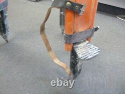 Vintage K & E 780040 Wooden Survey Engineering Extension Leg Tripod