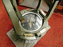 Vintage Keuffel & Esser 74000 Surveying Transit With Wooden Box & Tripod