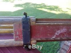 Vintage Keuffel Esser Surveyor Wooden Adjustable Tripod