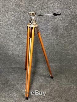 Vintage Mid-Century Modern Craig Thalhammer Wooden Tripod