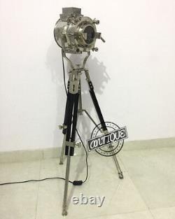 Vintage Modern Designer Lamp Stand Show-Room Focus Spotlight Tripod Stand L