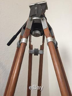 Vintage National Cine Equipment Wooden Tripod