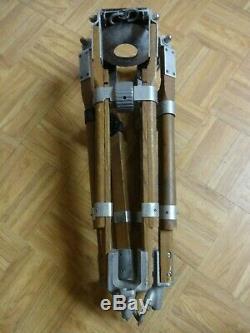 Vintage OConnor Wood Aluminum Baby Tripod Legs