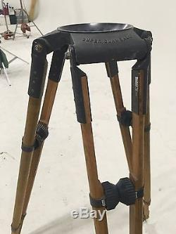 Vintage O'connor Super Clawball 4' Tripod withspreaders