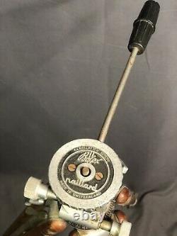Vintage Series Bolex Paillard Wood & Aluminum Adjustable Tripod w Pan Tilt Head