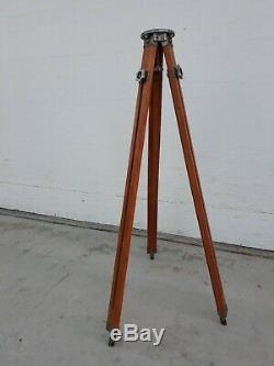 Vintage Sharman Camera Works Wood Tripod