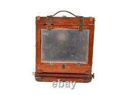 Vintage Soviet camera FKD 13 x 18 Industar 4 1 4,5 F = 21 cm + tripod Wooden