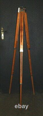Vintage Soviet tripod wooden for camera FKD extendable tripod USSR