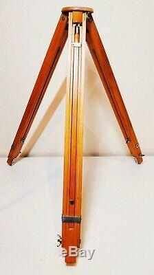 Vintage Soviet wooden tripod for camera FKD tripod USSR