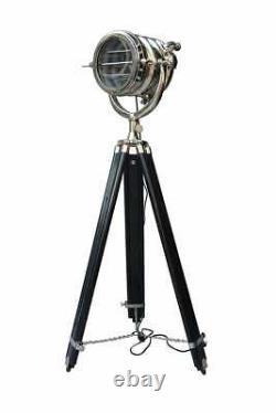 Vintage Style Room Standing Floor Lamp On Tripod Vintage Studio Spot Light Decor