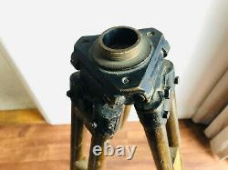 Vintage Surveyors Tripod Old Wooden Tripod Suitable for Lamp Etc