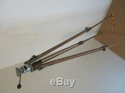 Vintage Thalhammer Co. Wood Tripod Adjustable To 60