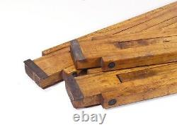 Vintage Thornton Pickard Antique Wooden Tripod For Plate Camera Sanderson Etc B