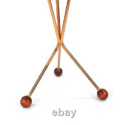 Vintage Tripod Side Table by Albert Larsson. 1960. MCM. Free Shipping