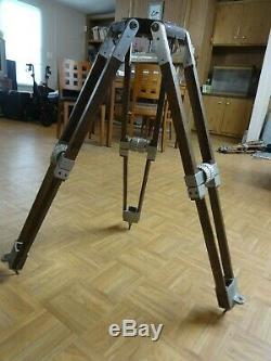 Vintage Wood Aluminum Baby Tripod Legs