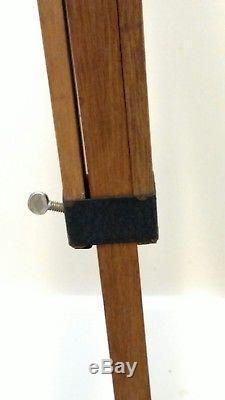 Vintage Wood Cast Metal Steel Tripod for Camera WORKS