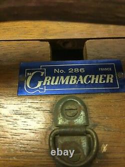 Vintage Wood Easel Grumbacher #286 France Plein Air Travel READ condition
