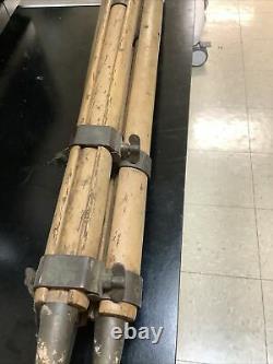 Vintage Wood Surveyors Tripod