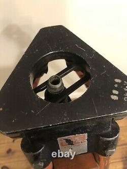 Vintage Wood Tripod Keuffel Esser Orange Surveying