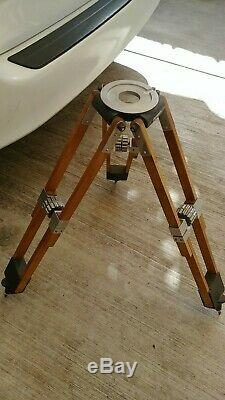 Vintage Wooden Camera Equipment Co. Tripod Motion Picture Camera