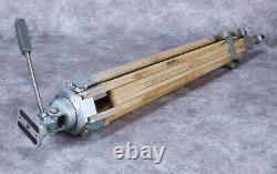 Vintage Wooden Camera Tripod with Extension Legs