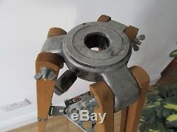 Vintage Wooden Japanese Telescope Tripod with light tray. Ideal for lighting