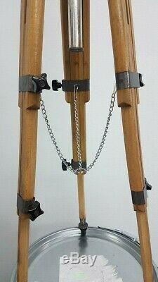 Vintage Wooden Tripod Berlebach Mulda Made in Germany Wood Stand Tripod