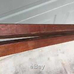 Vintage Wooden Tripod Repurpose Custom Lamp Light Base Wood Tripod SHIPS FAST
