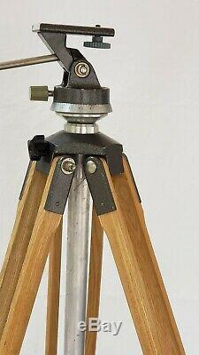 Vintage Wooden Tripod Unbranded