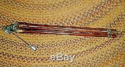 Vintage or Antique Wood and Metal Tripod THALHAMMER LTD. Panotilt Model BL