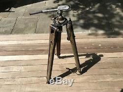 Vintage wood camera tripod
