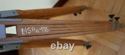 Vintage wooden tripod big and solid. About 158 cm. Works very well