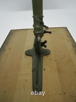 Vtg Antique Cast Iron Tripod Base Industrial Drafting Table Adjustable Dietzgen