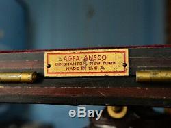 Agfa Ansco Vintage Trépied En Bois
