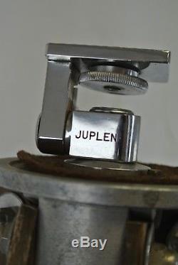 Caméra Trépied Extensible Vintage En Bois Et En Aluminium