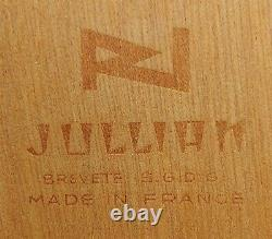Chevalet En Bois Vintage Grumbacher #286 France Plein Air Travel Wood Tin Lined