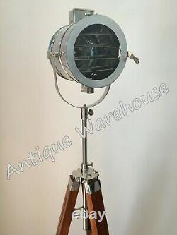 Chrome Vintage Industriel Moderne Terminer Spot Light Lampadaire Home Decor Lumière