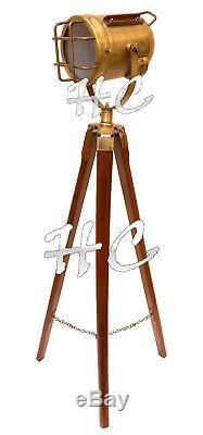 Éclairage De Maison De Lampe De Trépied Debout De Plancher De Style Industriel Vintage