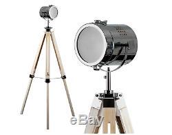 Élégant Vintage Retro Lampe Spot Light, Concepteur D'éclairage De Trépied Debout De Plancher