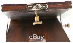 Graflex USA Caméra Couronne Bois Vintage Trépied Support Compact
