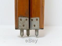 Grande Lampe Trépied En Bois Décor Vintage Trépied Allemand De Wood