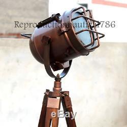 Lampadaire De Projecteur De Projecteur De Rétro Marine Rétro Vintage Marine Lampadaire Nautical