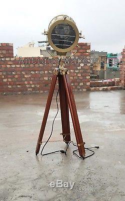 Lampadaire Moderne Industriel Vintage Trépied Nautique Marine Studio