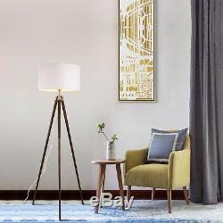 Lampadaire Trépied De Style Vintage Contemporain Au Milieu Du Siècle Light Light Shade