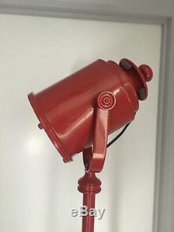 Lampadaire Trépied Spotlight Pieds En Bois Industriels Vintage Rétro Léger