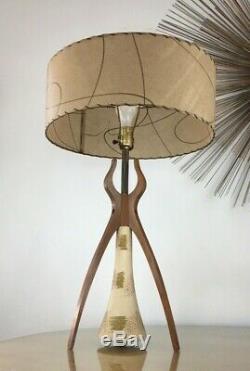 Lampe À Trépied Atomic Vintage MID Century!