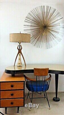 Lampe À Trépied Atomic Vintage MID Century! 50's