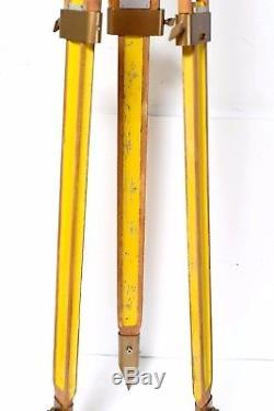 Lampe Tripode En Bois Vintage Lampie Stativ Wild Heerbrugg